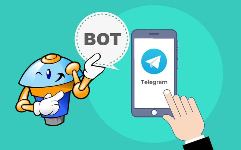 تصویر از ربات تلگرام چیست