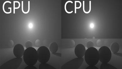 تصویر از پردازنده گرافیکی یا GPU چیست ؟ مقایسه بین gpu و cpu