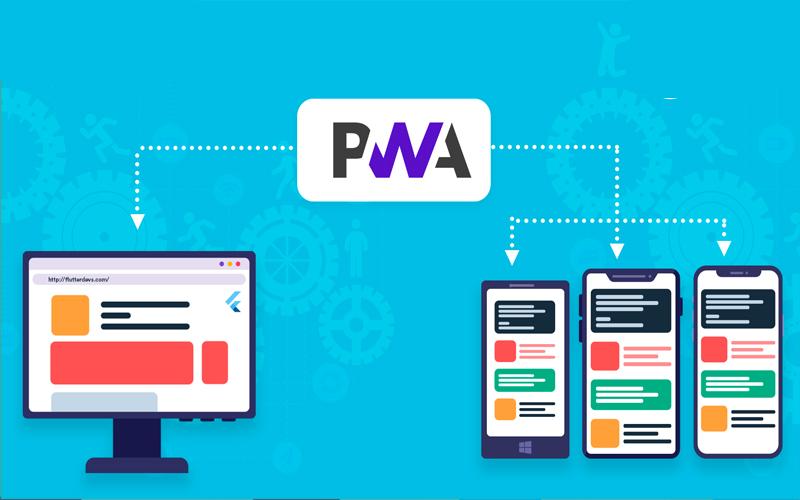 طراحی pwa