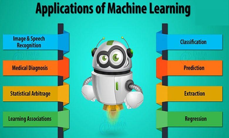 کاربرد های ماشین لرنینگ