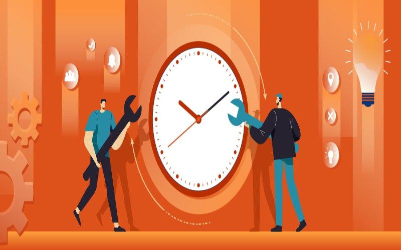 تعیین زمان کوتاه ترجیحا سه ماهه در مدل okr