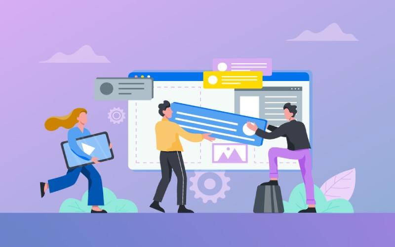استفاده از سایت ساز در راه اندازی وب سایت